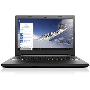 Lenovo Ideapad 100 39,6 cm (15,6 Zoll HD) Notebook (Intel Pentium N3540 Quad-Core Prozessor, 2,66GHz, 8GB RAM, 500GB HDD, Intel HD Grafik,DVD-Brenner, Windows 10) schwarz
