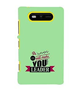 EPICCASE the leader Mobile Back Case Cover For Nokia Lumia 820 (Designer Case)