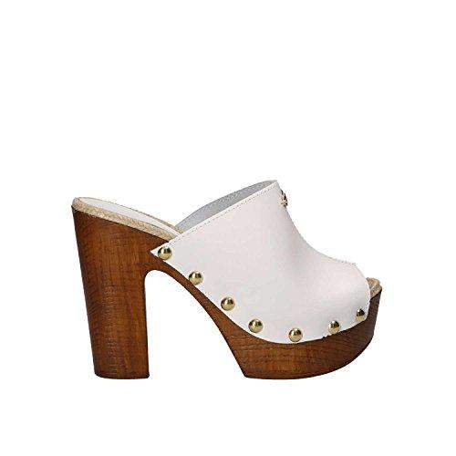 Guess FLGBY2 LEA01 Sandales Femmes Blanc
