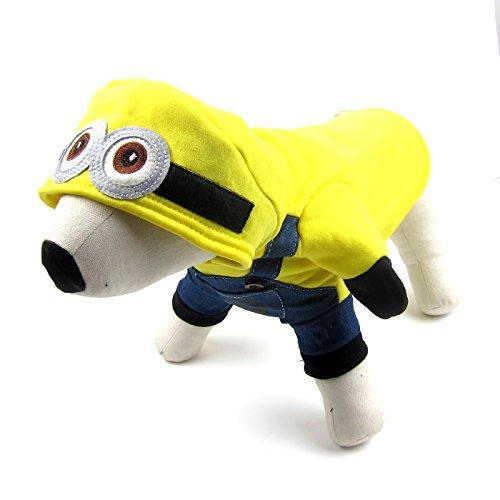 Hunde Minion Kostüm Xxl - Alfie Pet by Petoga Couture Fellpflege-Wesley Minion Kostüm-Farbe: Gelb, XXL, Gelb