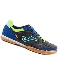Joma - Zapatillas para deportes de interior de Piel para hombre azul azul