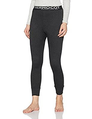 Rupa Thermocot Women's Plain/Solid Synthetic Thermal Bottom