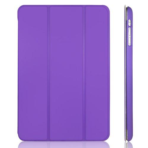 JETech 0477- Hülle für Apple iPad mini 3 iPad mini 2 iPad mini, Schutzhülle mit Ständer Funktion und Auto Einschlafen/Aufwachen, Lila
