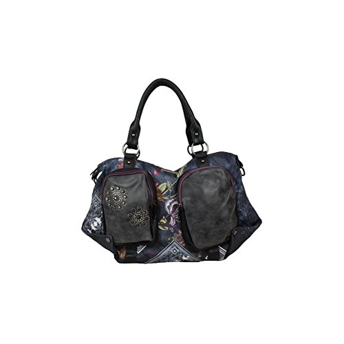 Sac à Main Smash Marine et Multicolore LISA Synthétique A1521545