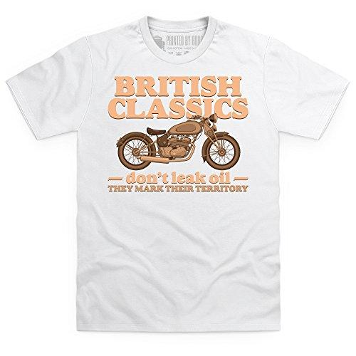 British Classics T-Shirt, Herren Wei