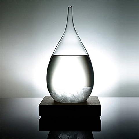Creative Stylish Desktop Droplet storm Glass Crafts Weather Storm Forecast