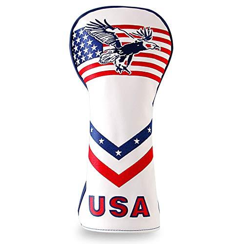 YOPRAL Golf USA Eagle Driver Cover für 460cc Golfschlägerhauben Callaway Titleist Taylormade