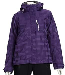 Ziener Tailor Womens Ski Jacket - 36, Dark Purple