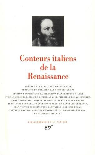 Conteurs Italiens De La Renaissance [Pdf/ePub] eBook