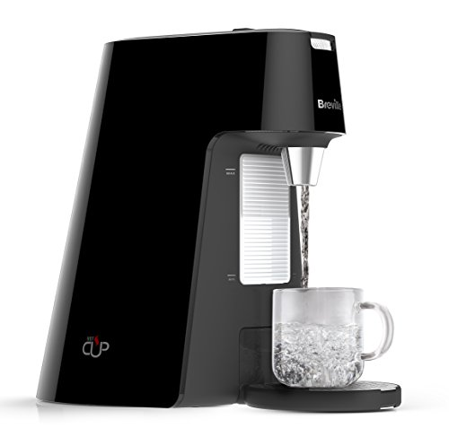 Breville HotCup Hot Water Dispenser with Adjustable Cup Height, 1.7 Litre, Gloss Black