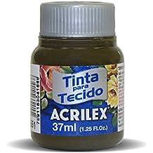 Acrilex Pintura Textil al Agua Sepia 37 ML Ref. 551