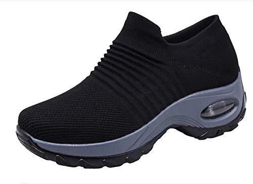 Zapatos de Trabajo Muy cómodos para Trabajos de hostelería y no resbalan-UniseZapatos Casuales Muy...
