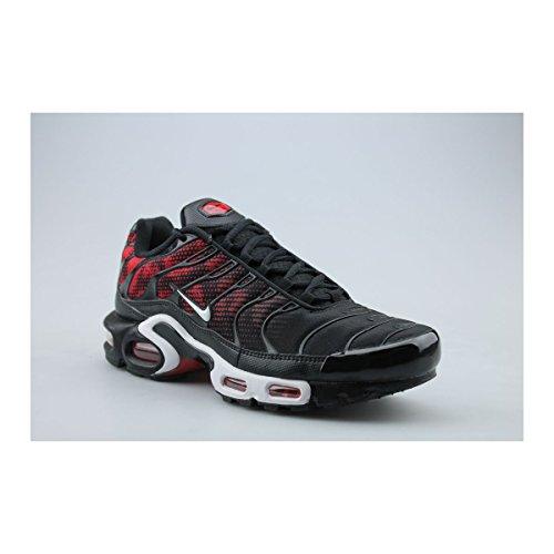 Nike Air Max Plus TN TXT black white challenge red 016