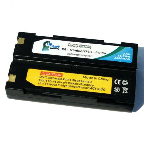 Batteria sostitutiva per Trimble tr-r8Trimble 29518, 5700, R7, R8GNSS, MT1000,