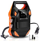 Best Air Compressor For Car Tires - Digital Tyre Inflator, FYLINA Preset Air Compressor Tyre Review