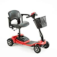 Motion Healthcare Lithilite Pro – 4-Wheel Mobility Travel Scooter – Electric Portable Mobility Scooter for Adults