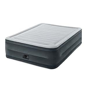 INTEX Plush Elevated Dura-Beam Airbed Bed (22-inch, 64417E)