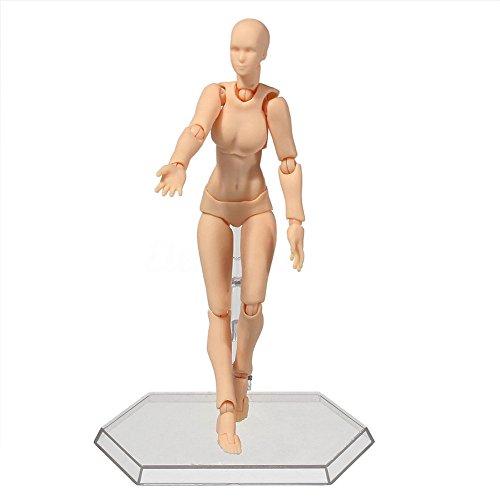 Weibliche Bodys (lzn 2.0 Aktion Ample Body Kun Puppe PVC Body-Chan DX Set Action Figur Modell Für SHF 13 cm/13.5)