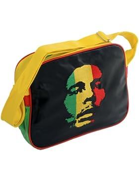 rasta4real Jamaika EMBROIDED BOB MARLEY RASTA Tasche