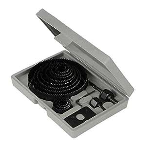 Silverline 633729 Coffret scies-cloches 16 pièces 19-127 mm