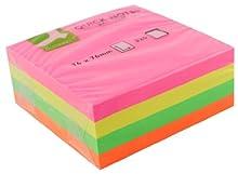 Connect Quick Notes Cube Green, Yellow, Orange & Pink etichetta autoadesiva 320 pezzo(i)