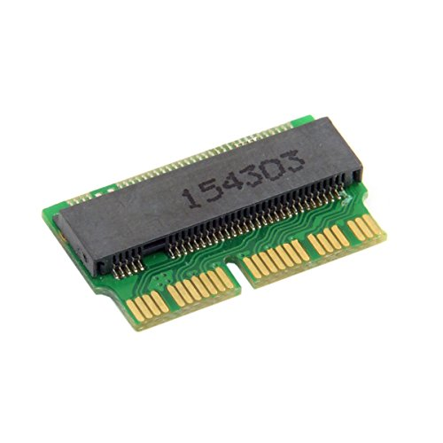 CY 12 + 16pin auf M.2 NGFF M-Key AHCI SSD Konvertierungskarte für A1493 A1502 A1465 A1466