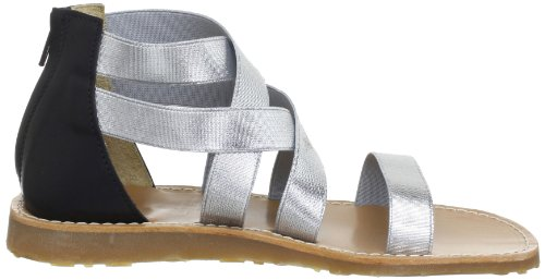 Petit By Sofie Schnoor P123C, Sandales fille Argent (Silver)