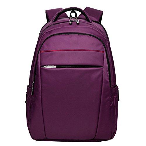 Borsa Yy.f Spalla Corsa Esterna Affari Sacchetto Del Calcolatore Per Il Tempo Libero Le Borse Degli Studenti Impermeabile Trekking Zaino Multifunzionale Purple
