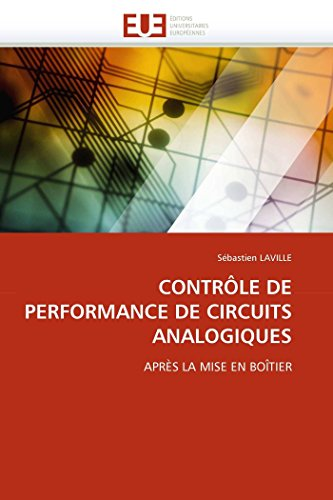 Contrôle de performance de circuits analogiques par Sébastien LAVILLE