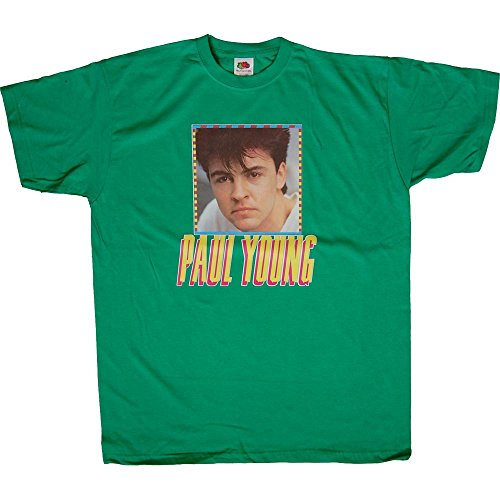 Paul Young Original 1980s T-Shirt - Vintage Stock And Very Rare