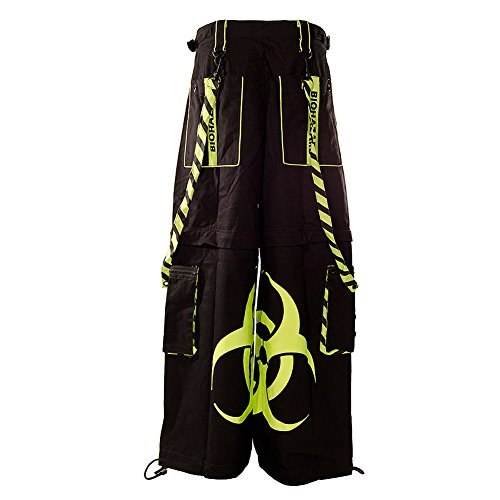 Pantaloni Biohazard Dead Threads (Nero/Giallo) Nero