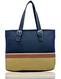 cd12aa766e Lady Queen Women's Designer Purse Multicolor Leather Shopper Tote Shoulder  Bag