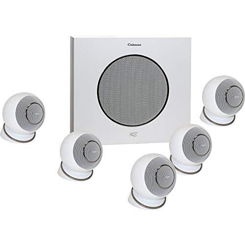 Cabasse Eole 4 Lautsprecher-Set Heimkino 5.1 Weiß