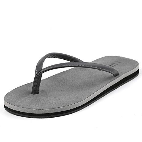 Coppia di pelle scamosciata antiscivolo flip flop/Estate scarpe per uomini e donne in Europa e America/Pantofole/Sandali B