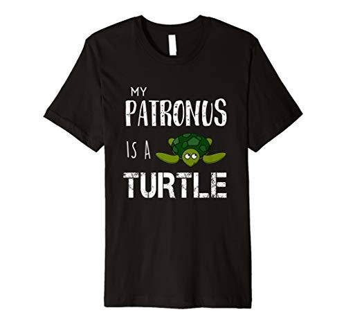 My Patronus ist eine Schildkröte lustige Geschenk T-Shirt