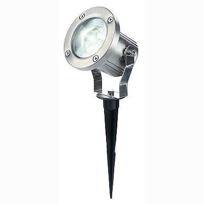 Außenleuchte Nautilus LED304S Edelstahl brushed LED weiß von SLV bei Lampenhans.de