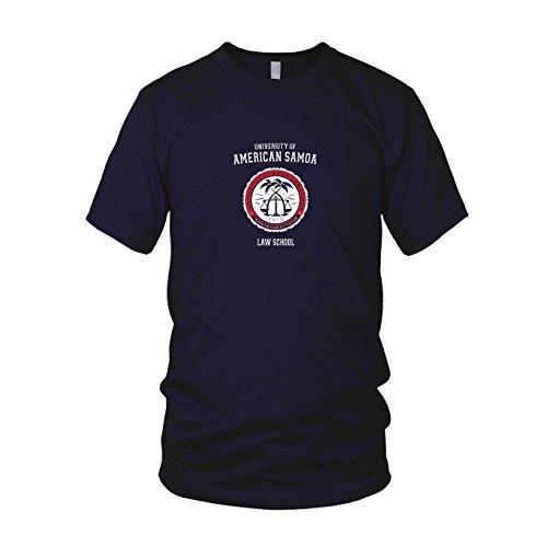 an Samoa - Herren T-Shirt, Größe: XL, dunkelblau (Nerds Box Kostüm)