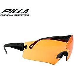Pilla Vigilante Lunettes de tir 45MX Orange objectif Cadre noir
