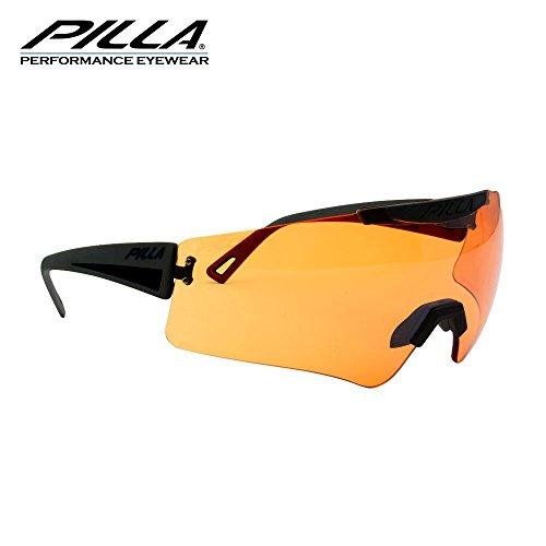 Beautyrain 1 PC Lunettes polarisées/Lunettes de soleil myopes Convient pour les hommes/femmes/UV400 Protection Idéal pour conduire, vélo, sports/noir + blanc/noir + rouge