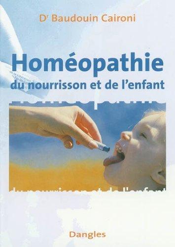 Homéopathie du nourrisson et de l'enfant