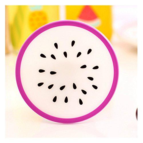 Watermelon, Pitaya, verde, arancione, limone, carambole, Fruit fette, in Silicone, per tutti i climi, sottobicchieri, Set da 7
