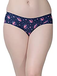 Da Intimo Womens Briefs (DIU-0506_Blue_X-Large)