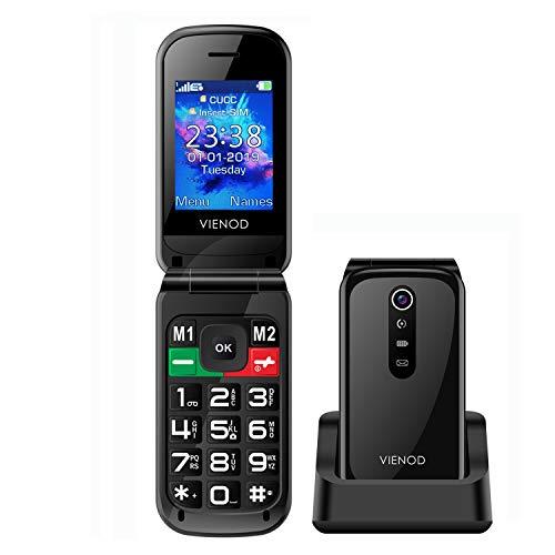 #Teléfono móvil sencillo:El VIENOD VF241 teléfono no tiene las característicascomplejas de un teléfono inteligente. Su función principal es hacer llamadas, enviar y recibir mensajes de texto y hacer llamadas de emergencia.# Marcación rápida:Puede ...