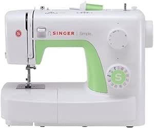 Singer Simple 3229 Machine à Coudre Blanche/Verte 29 Points Ajustables