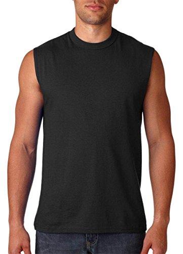 Jerzees -  T-shirt - Uomo Black