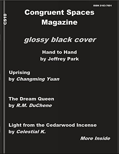 Congruent Spaces Magazine, Issue 10: glossy black cover (English Edition) (Cover Manning)