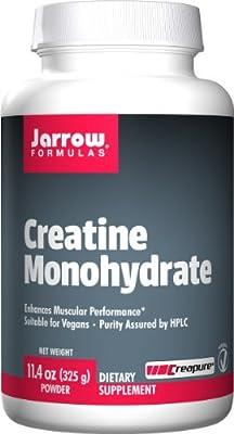 Jarrow Formulas, Creatine Monohydrate 325, Powder, 11.4 oz (325 g) by Jarrow FORMULAS