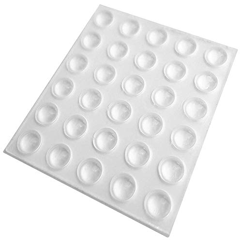KANKOO Gummi Schutzwand Schutz Stoßstange Puffer Anti-Kollisionskorn Anti-Kollisionsschutz Schutzpolster Schrank WC Schalldmpfer Anti-Kollisions-Gummi-Wand