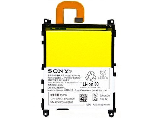 Sony Ersatz-akku (Original Sony Xperia Z1 L39H C6903 Accu Battery Akku Batterie LIS1525ERPC 3000 mAh)