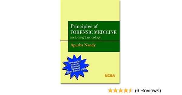 forensic medicine and toxicology karmakar pdf download